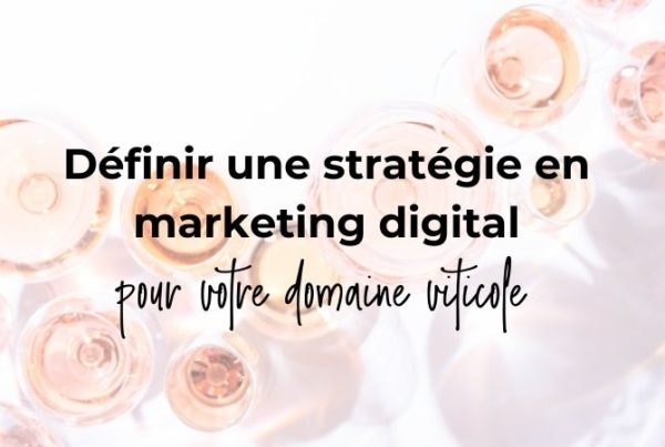 stratégie marketing digital
